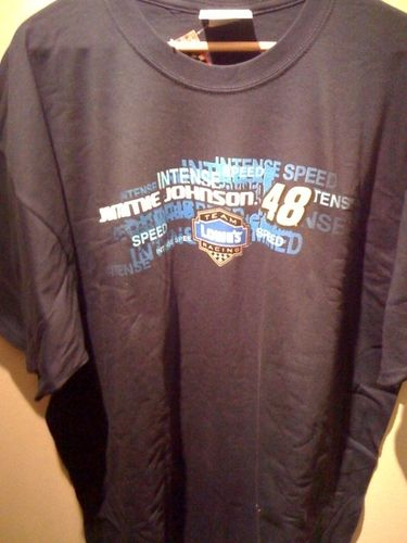 Jimmie Johnson #48 T-shirt Repeat Winners