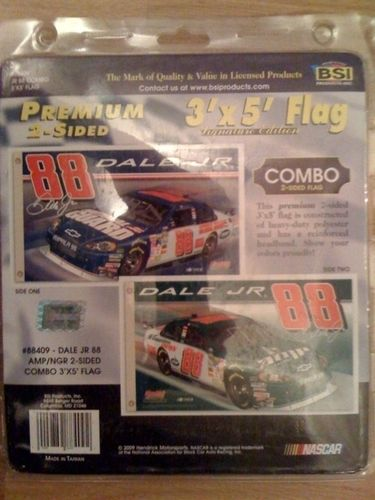 Dale Jr #88 Flag Doublesided